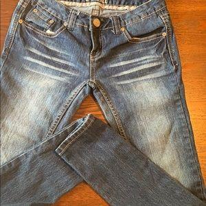Size 3 short jeans
